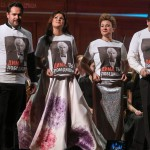 Ильдар Абдразаков, Анна Нетребко, Екатерина Губанова и Александр Антоненко на сцене БЗК