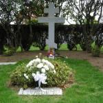 Могила Сергея Рахманинова на кладбище Кенсико. Фото: Wikipedia
