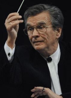 Владимир Федосеев во время концерта современной музыки XXI века в Московской консерватории, 2009 год