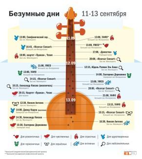 «Безумные дни» пройдут в Екатеринбурге с 11 по 13 сентября