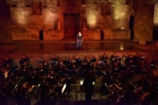 Башкирский романс «Былбылым» прозвучал под сводами античного театра Аспендос