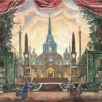 Петергоф представит редкие эскизы художников Бенуа к спектаклям на музыку Чайковского