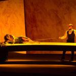 Интерьеры и костюмы «Саломеи» заметно осовременились на сцене «Новой оперы» . Фото - Даниил Кочетков