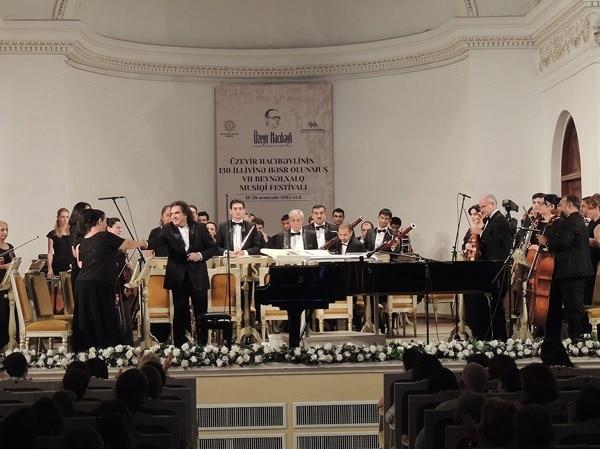 В Баку завершился фестиваль, посвященный 130-летию Узеира Гаджибейли