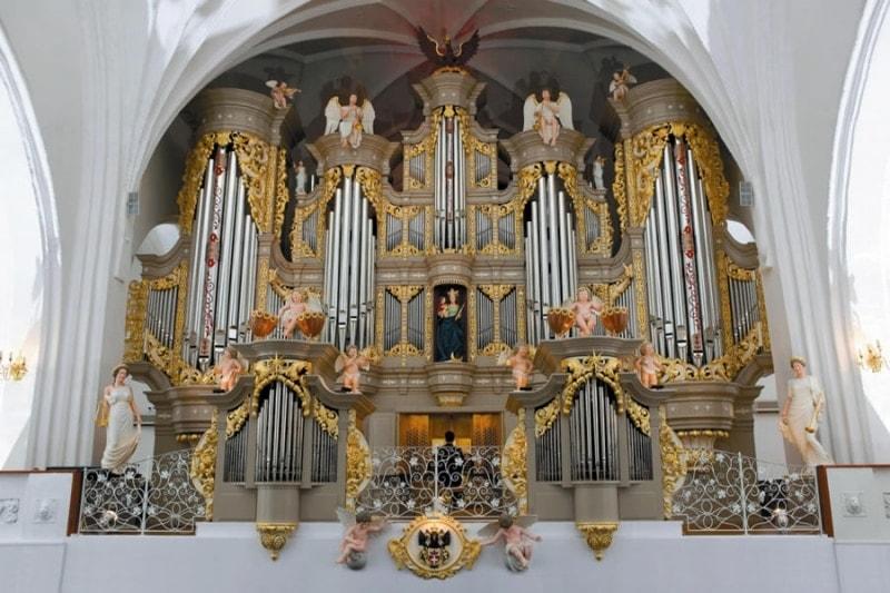 Орган кафедрального собора в Калининграде