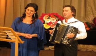 Агунда Кулаева и Алексей Татаринцев выступили на фестивале Ларисы Гергиевой