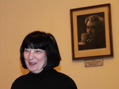 Элисо Константиновна в 29 классе Московской консерватории, 2011 год