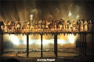 «Кармен» в постановке МАМТа на сцене Большого театра Тяньцзиня
