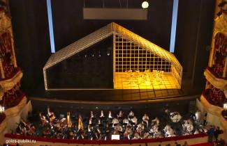 Сцена и оркестр. Фото - Федор Борисович / golos-publiki.ru