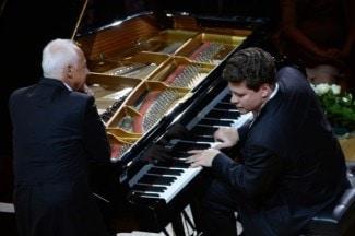 Денис Мацуев на юбилейном концерте Владимира Спивакова. Фото - Владимир Вяткин