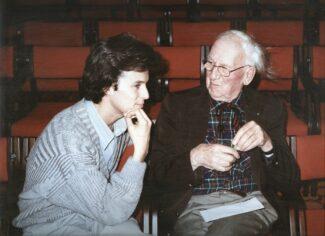 Хобарт Эрл и Эрих Альбан Берг, 1986 год.