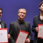 Илья Максимов (в центре) занял первое место на конкурсе в Италии