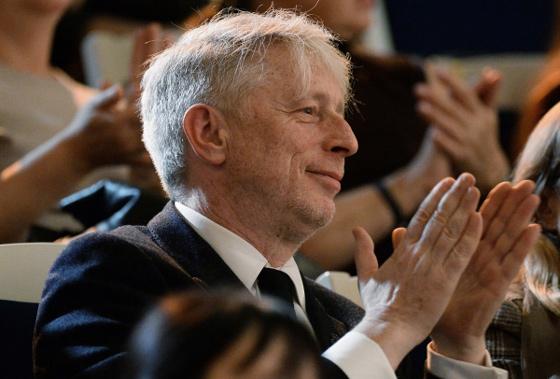 Леонид Десятников на юбилейном концерте в Концертном зале имени