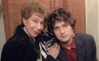 Вера Васильевна Горностаева и Лукас Генюшас. Фото из личного архива Лукаса Генюшаса