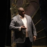 Реджинальд Смит-младший на репетиции в Саратовском театре оперы и балета. Фото - Анна Недочетова
