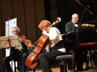 Трио имени Рахманинова на концерте в Зальцбурге