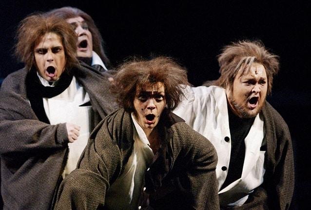 Сцена из оперы «Дети Розенталя». Фото - Дамир Юсупов/Большой театр