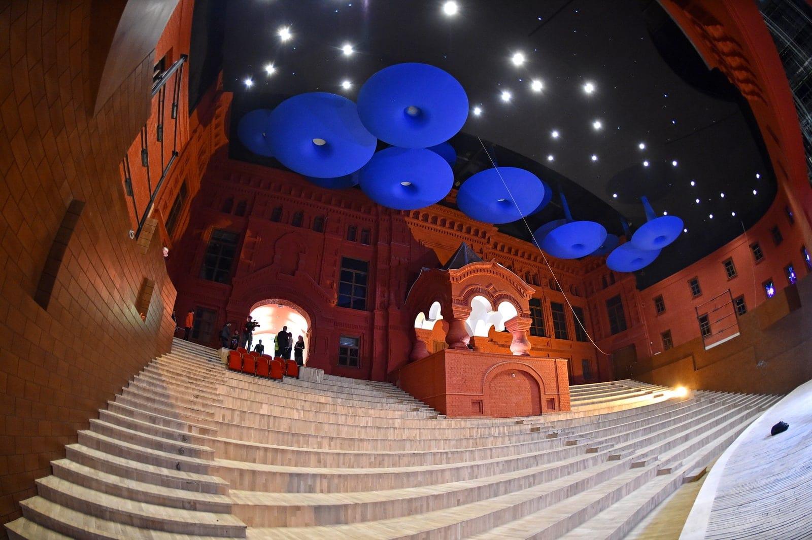 Геликон-опера: зал Стравинского