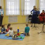 В Кемерове прошёл концерт классической музыки для младенцев