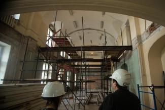 Домовой церкви возвращают забытый вид. Фото - Илья Трусов