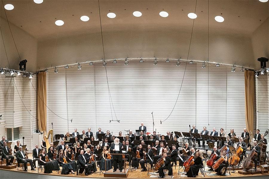 Филармонический оркестр Турку и Лейф Сёгерстам
