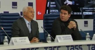 Пресс-конференция Владимира Спивакова и Дениса Мацуева