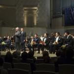 Церемония награждения лауреатов и дипломанта II Всероссийского музыкального конкурса по специальности оперно-симфоническое дирижирование