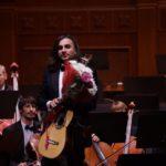 В Белгородской филармонии прозвучали произведения итальянских композиторов в исполнении гитариста Артёма Дервоеда