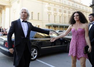 Дмитрий Хворостовский с супругой Флоранс, 2011 год. Фото - Алексей Филиппов/ТАСС