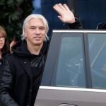 Дмитрий Хворостовский прилетел в Минск