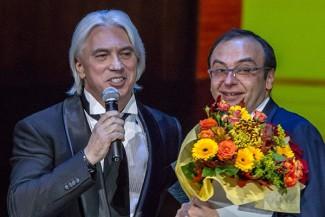 Дмитрий Хворостовский и Дмитрий Бертман. Фото - Сергей Куксин/РГ