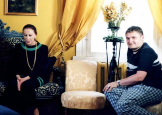 Майя Плисецкая и Александр Васильев. Фото из личного архива Александра Васильева