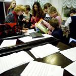 Работа детской музыкальной школы имени Гнесиных. Фото - Григорий Сысоев /РИА Новости