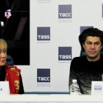 Оперный бал Елены Образцовой - пресс-конференция в ТАСС