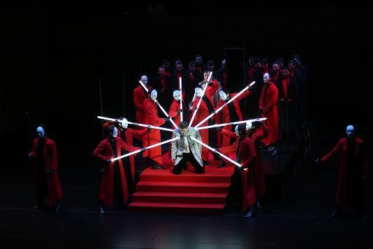 Мариинский театр представил первую премьеру сезона – оперу П. И. Чайковского «Опричник». Фото -Наталья Разина (Мариинский театр)