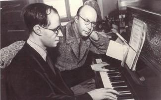 Мстислав Ростропович и Сергей Прокофьев