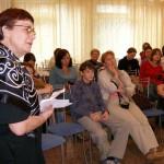 Н. Ю. Заварзина ведет занятия в Летней творческой академии в Костомукше