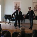 Маэстро Алессандро Шваб провел мастер-классы в Саратовской области