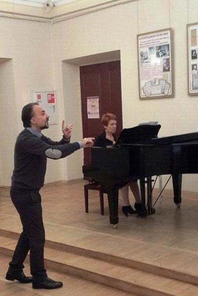 В Краснодарском музыкальном колледже прошел мастер-класс Алессандро Шваба