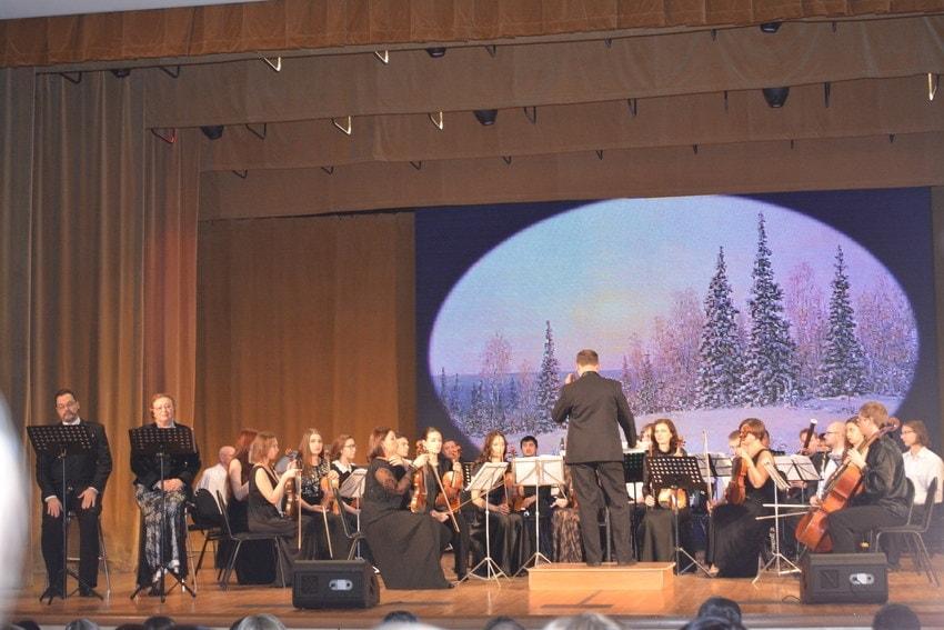 Музыканты Тюменского симфонического оркестра сыграли со студентами колледжа искусств