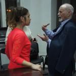 Алина Яровая и Владимир Минин на репетиции