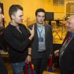 Юрий Симонов с молодыми коллегами