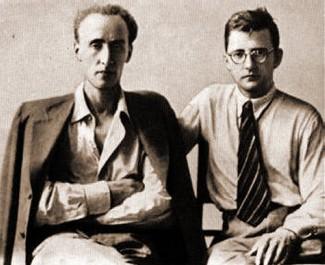 Евгений Мравинский и Дмитрий Шостакович