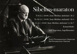 Марафон симфоний Яна Сибелиуса в Турку