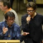 Арбенина и Башмет отыграли совместный симфонический концерт в столичном Crocus City