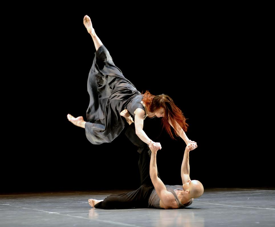 Участники конкурса Софья Гайдукова и Павел Глухов. Фото: Игорь Захаркин