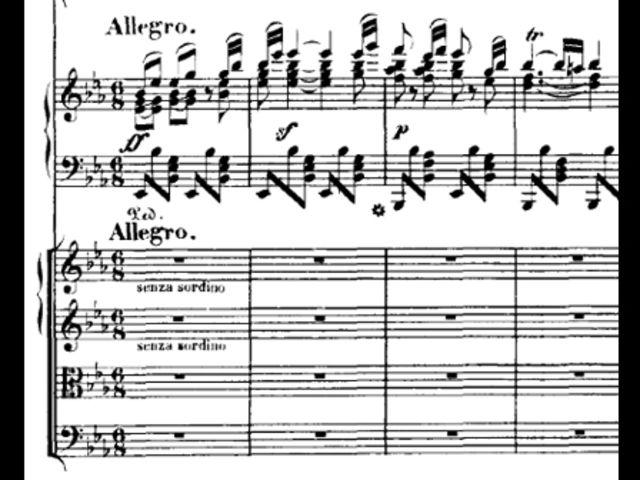 Это финал концерта для фортепиано с оркестром. Какого именно концерта?