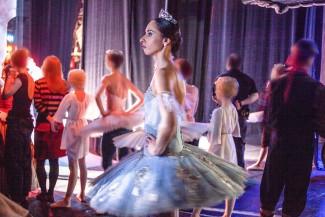 "Кадр из фильма ""Bolshoi Babylon"". Балерина Мария Аллаш"