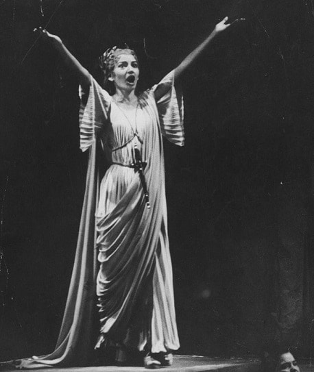 Какую партию Мария Каллас исполняла Чаще всего?