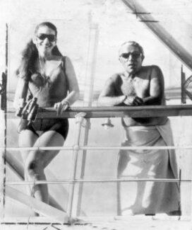 Мария Каллас и Аристотель Онассис